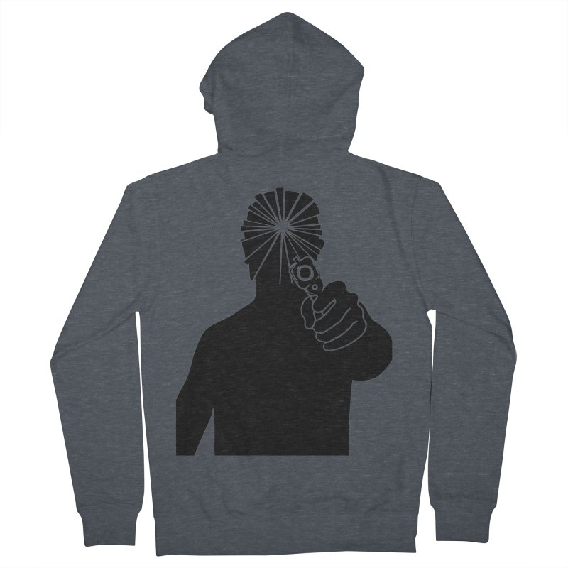 HIT Men's Zip-Up Hoody by Sinazz's Artist Shop
