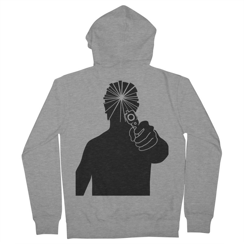 HIT Men's French Terry Zip-Up Hoody by Sinazz's Artist Shop