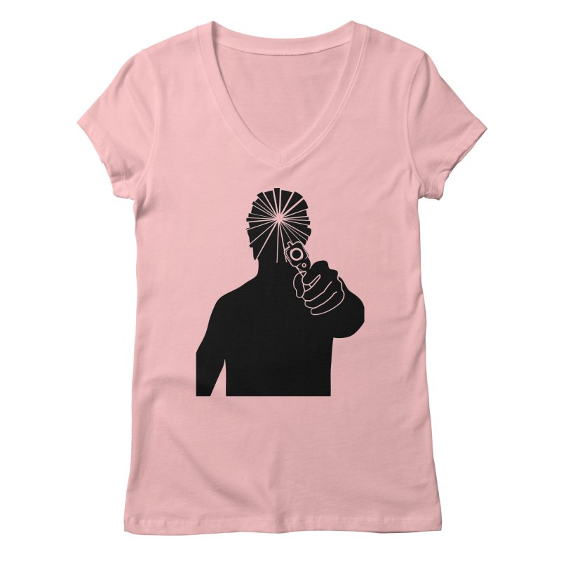HIT Women's V-Neck by Sinazz's Artist Shop