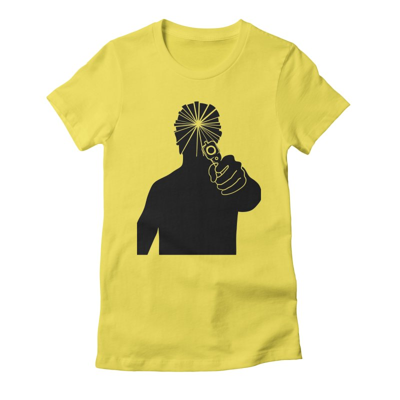HIT Women's Fitted T-Shirt by Sinazz's Artist Shop