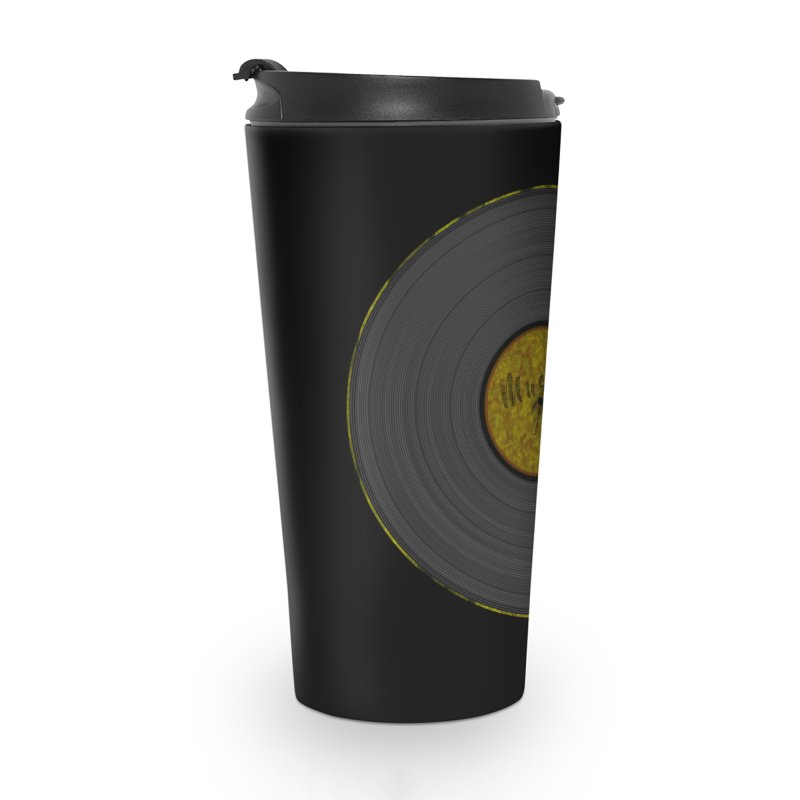 Vinyl Art Accessories Travel Mug by Sinazz's Artist Shop