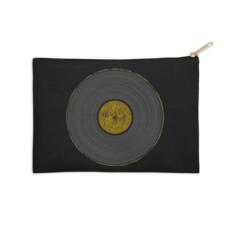 Vinyl Art Accessories Zip Pouch by Sinazz's Artist Shop