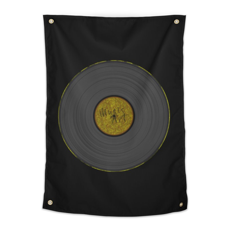 Vinyl Art Home Tapestry by Sinazz's Artist Shop