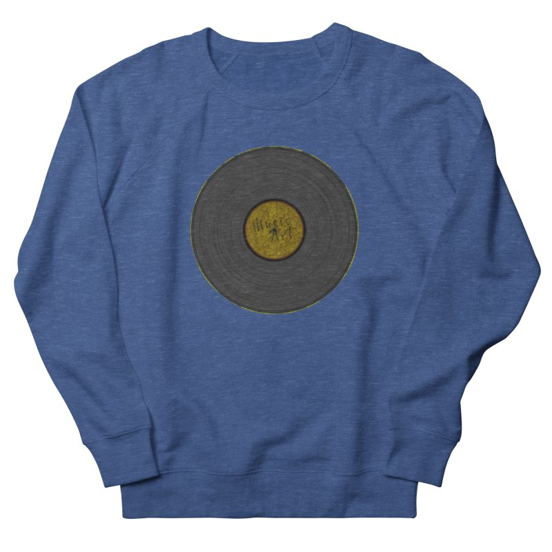 Vinyl Art Men's Sweatshirt by Sinazz's Artist Shop