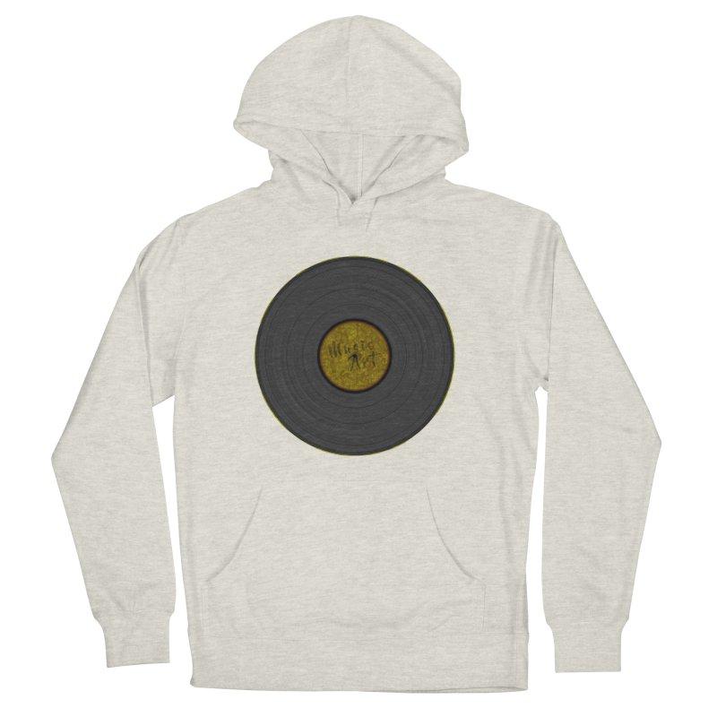 Vinyl Art Men's Pullover Hoody by Sinazz's Artist Shop