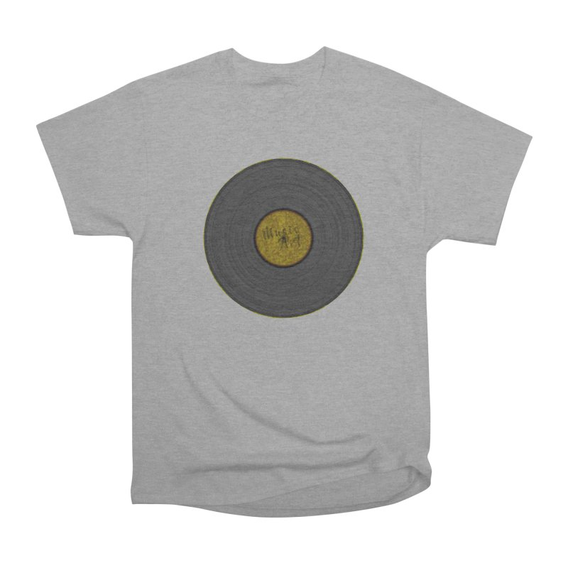 Vinyl Art Men's Heavyweight T-Shirt by Sinazz's Artist Shop