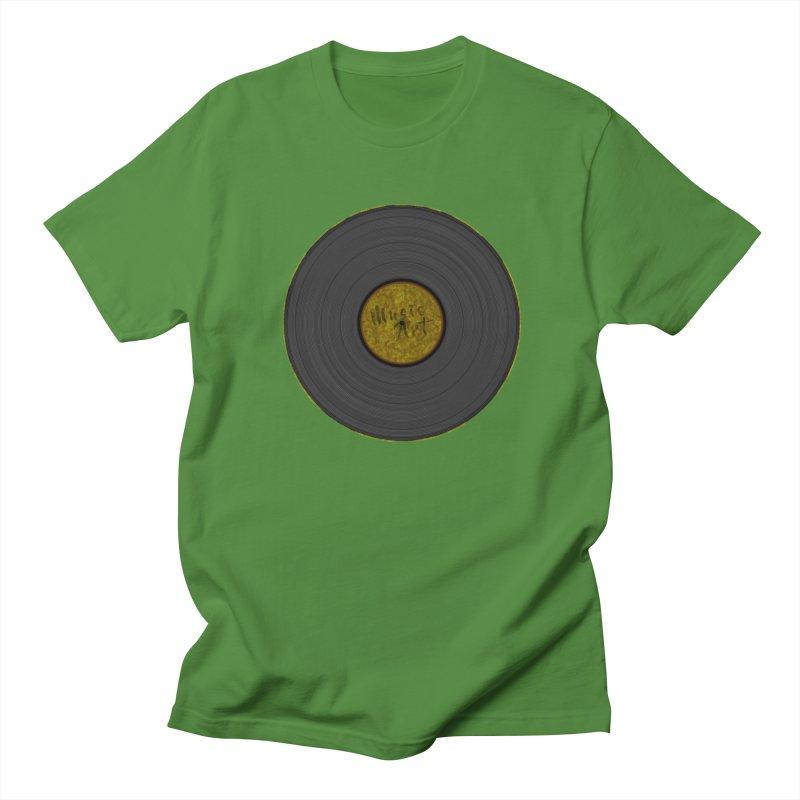 Vinyl Art Women's Regular Unisex T-Shirt by Sinazz's Artist Shop
