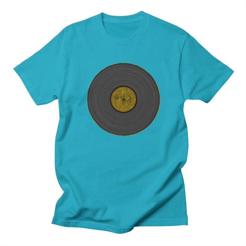 Vinyl Art Women's Unisex T-Shirt by Sinazz's Artist Shop