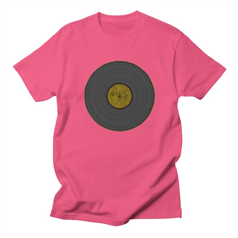 Vinyl Art Women's Unisex T-Shirt by Sinazz's Artist Shop