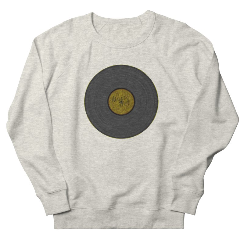 Vinyl Art Women's French Terry Sweatshirt by Sinazz's Artist Shop