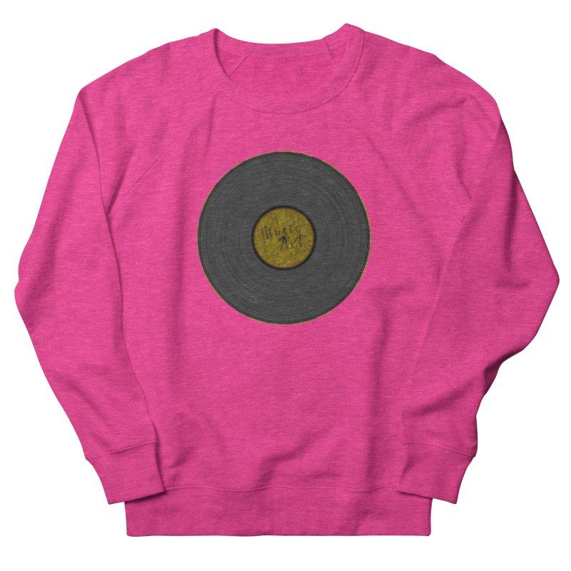 Vinyl Art Men's French Terry Sweatshirt by Sinazz's Artist Shop