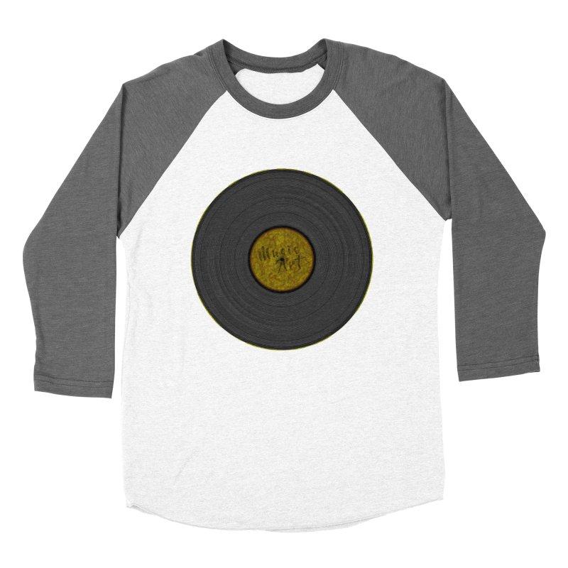 Vinyl Art Women's Baseball Triblend Longsleeve T-Shirt by Sinazz's Artist Shop