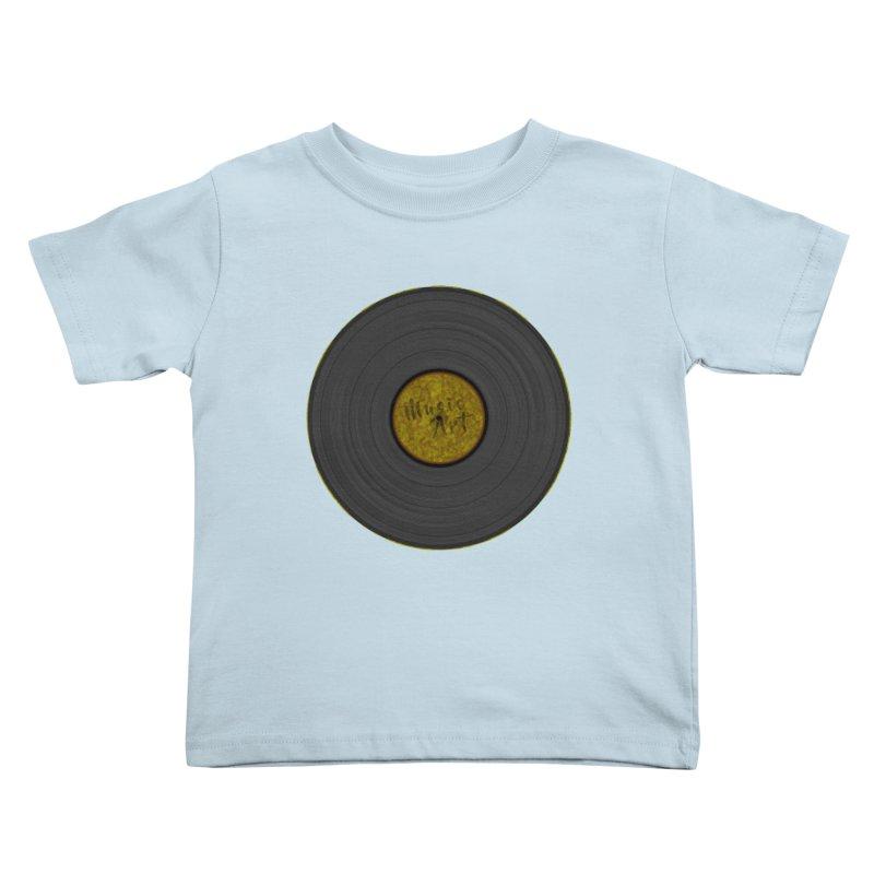 Vinyl Art Kids Toddler T-Shirt by Sinazz's Artist Shop