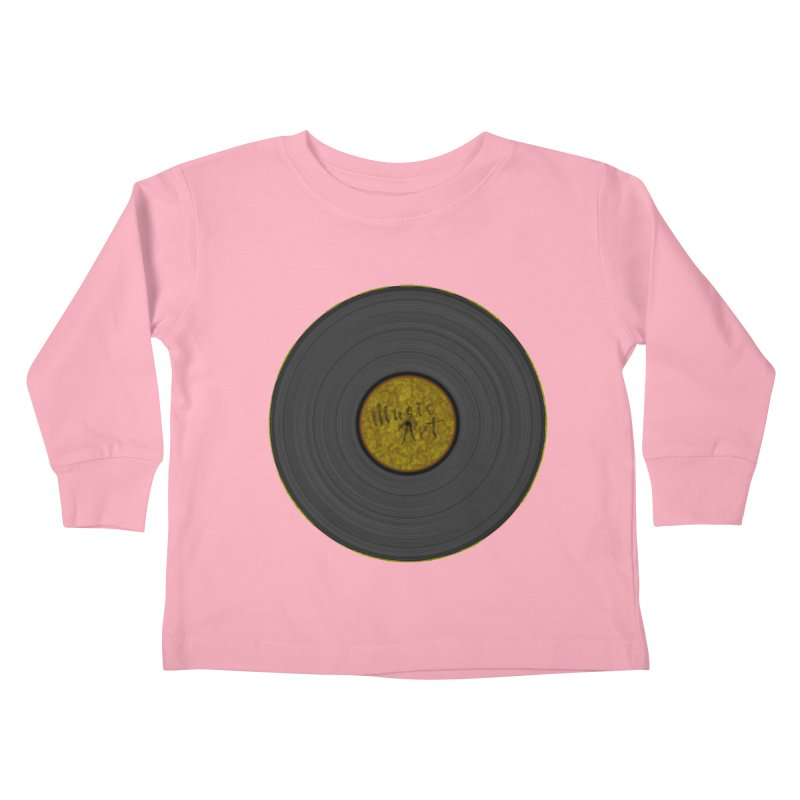 Vinyl Art Kids Toddler Longsleeve T-Shirt by Sinazz's Artist Shop