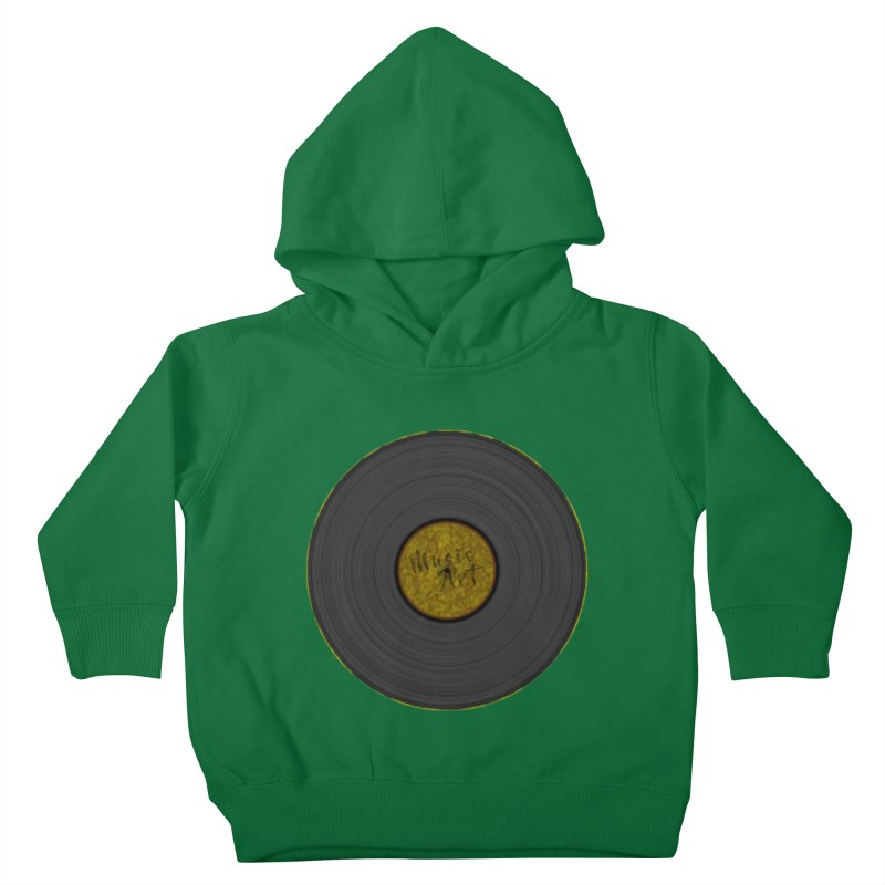 Vinyl Art Kids Toddler Pullover Hoody by Sinazz's Artist Shop