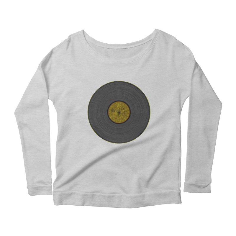 Vinyl Art Women's Longsleeve T-Shirt by Sinazz's Artist Shop
