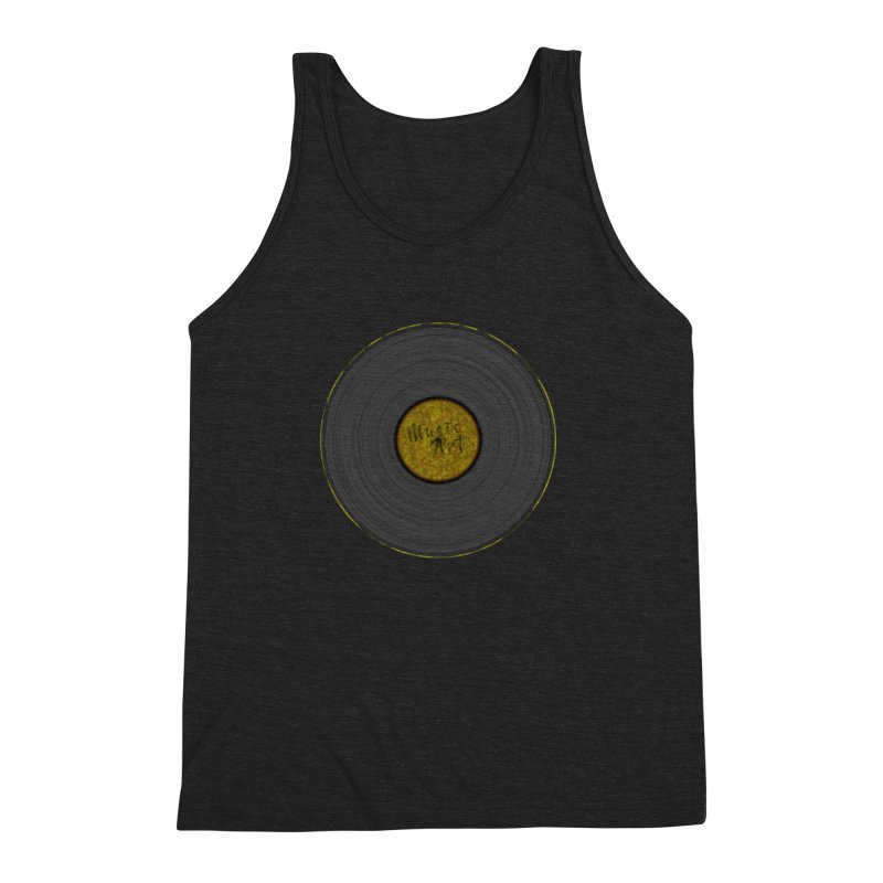 Vinyl Art Men's Triblend Tank by Sinazz's Artist Shop
