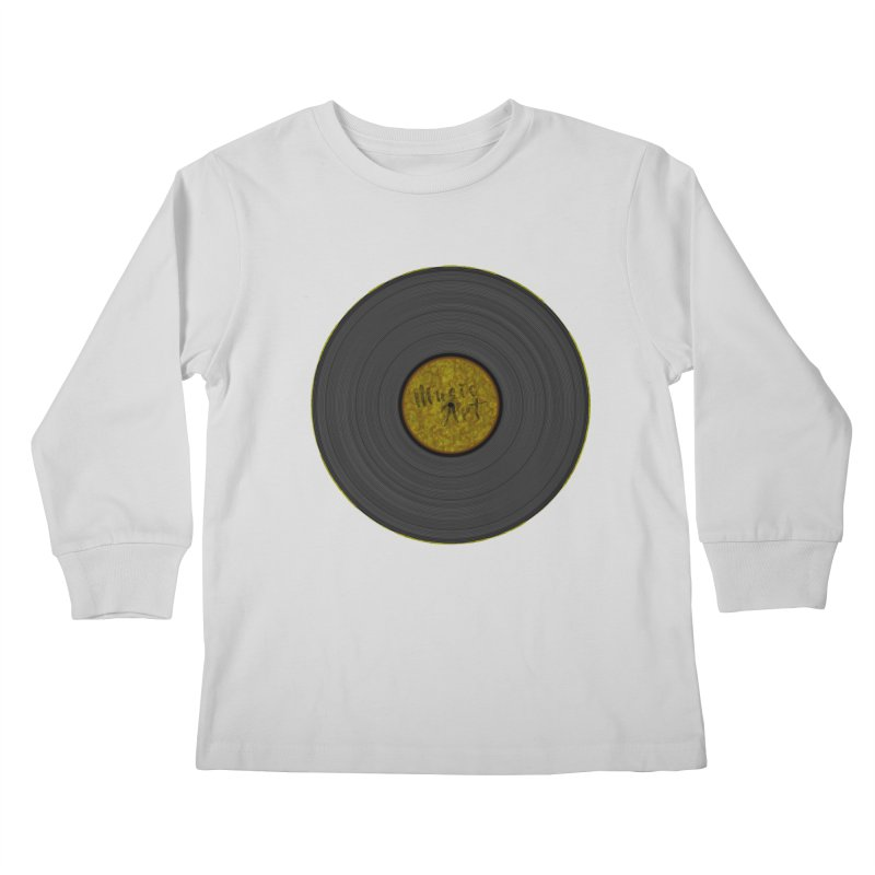 Vinyl Art Kids Longsleeve T-Shirt by Sinazz's Artist Shop