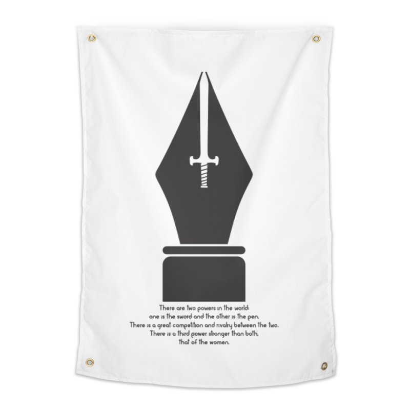 PEN AND SWORD Home Tapestry by Sinazz's Artist Shop