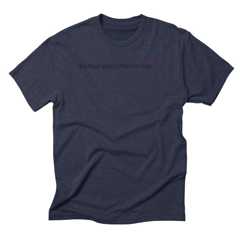 You Might Want To Process That Men's Triblend T-Shirt by Sissy Store: 90 Day Gays Swag
