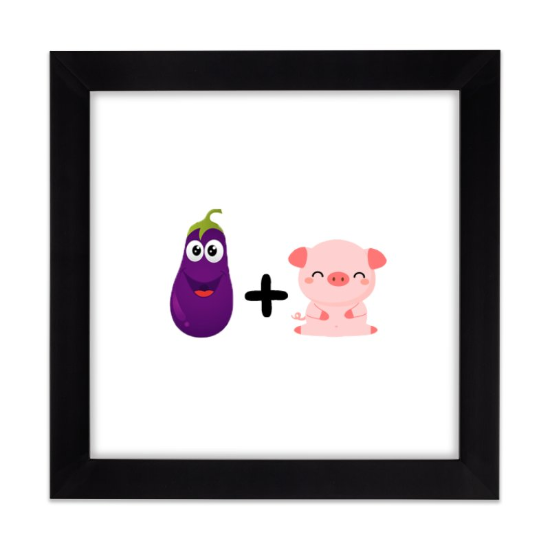 D**kP*g Home Framed Fine Art Print by Sissy Store: 90 Day Gays Swag