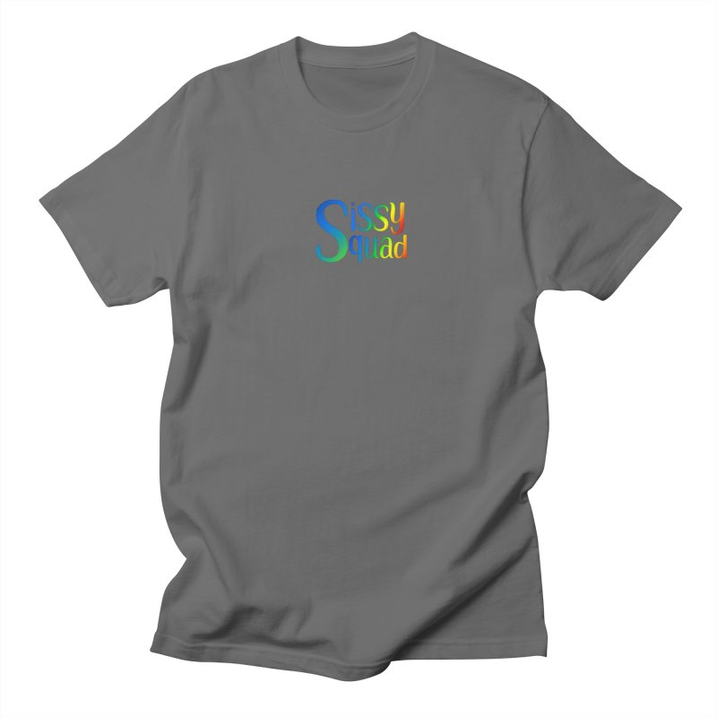 Sissy Squad RAINBOW TEXT Women's T-Shirt by Sissy Store: 90 Day Gays Swag
