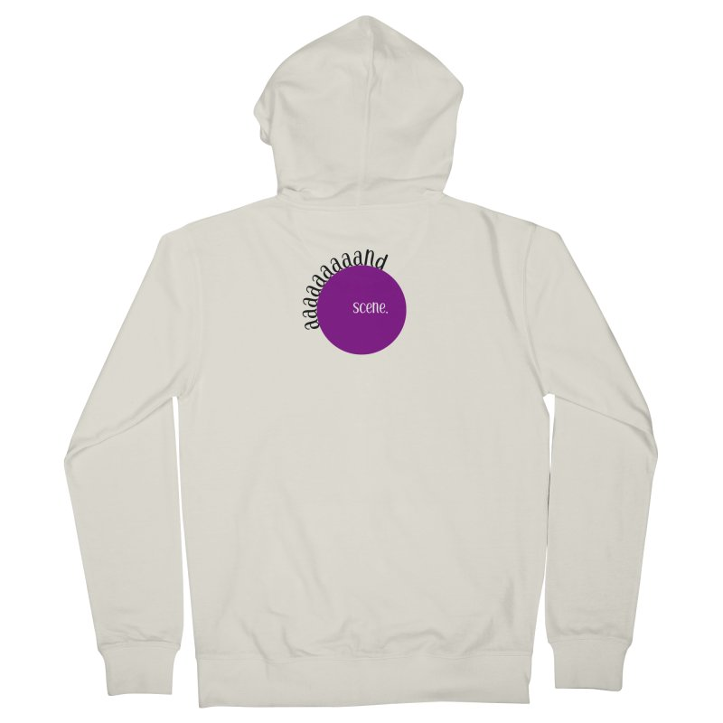 aaaaand Scene Women's French Terry Zip-Up Hoody by Sissy Store: 90 Day Gays Swag