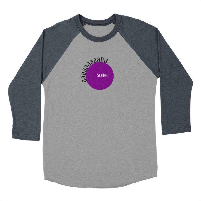 aaaaand Scene Men's Baseball Triblend Longsleeve T-Shirt by Sissy Store: 90 Day Gays Swag