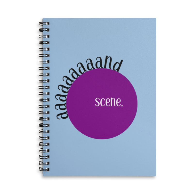 aaaaand Scene Accessories Notebook by Sissy Store: 90 Day Gays Swag