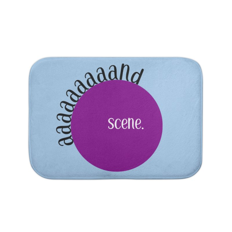 aaaaand Scene Home Bath Mat by Sissy Store: 90 Day Gays Swag
