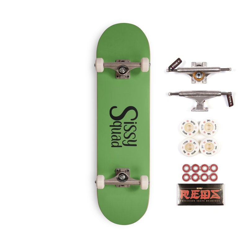 Sissy Squad BLACK LETTERS-NOT FOR DARK SHIRTS! Accessories Complete - Pro Skateboard by Sissy Store: 90 Day Gays Swag