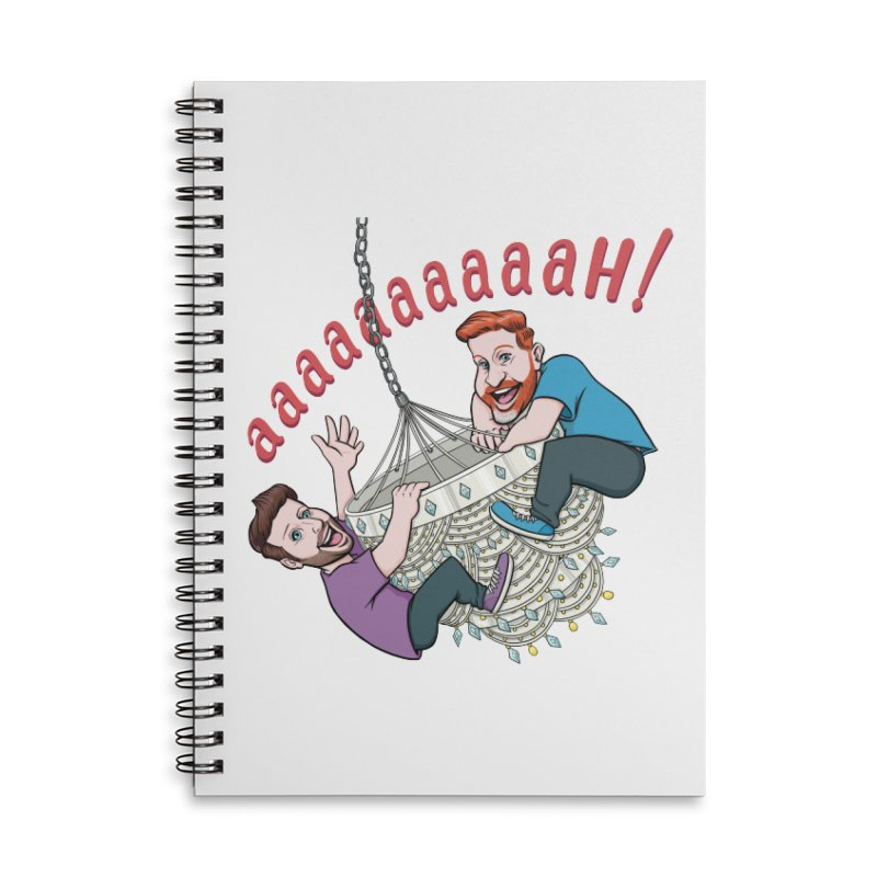 Chandelier Scream Accessories Lined Spiral Notebook by Sissy Store: 90 Day Gays Swag