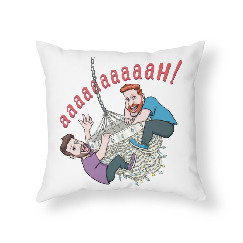 Chandelier Scream Home Throw Pillow by Sissy Store: 90 Day Gays Swag