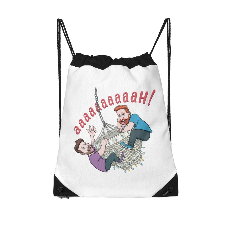 Chandelier Scream Accessories Drawstring Bag Bag by Sissy Store: 90 Day Gays Swag
