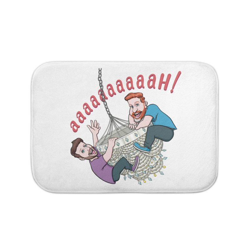 Chandelier Scream Home Bath Mat by Sissy Store: 90 Day Gays Swag