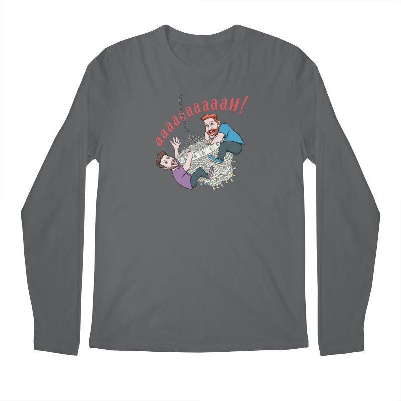 Chandelier Scream Men's Longsleeve T-Shirt by Sissy Store: 90 Day Gays Swag
