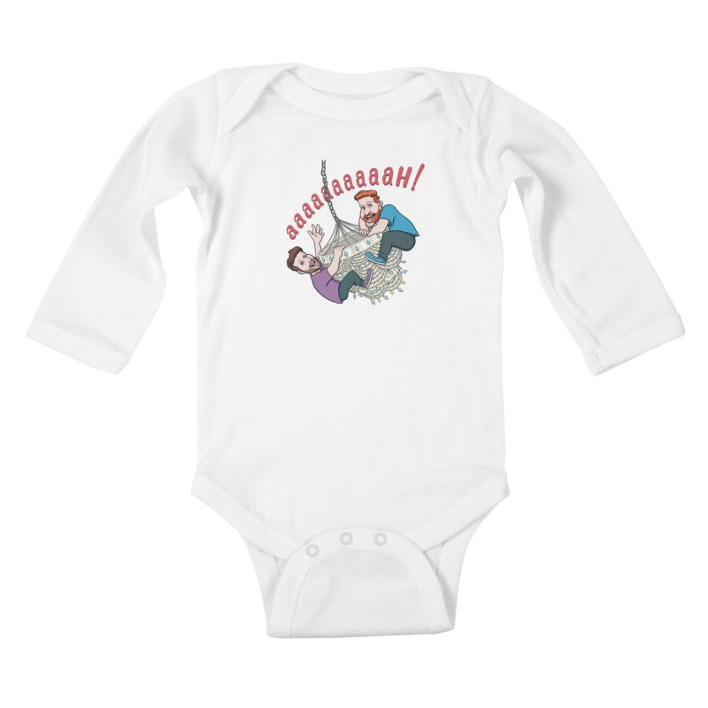 Chandelier Scream Kids Baby Longsleeve Bodysuit by Sissy Store: 90 Day Gays Swag