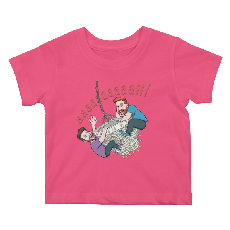 Chandelier Scream Kids Baby T-Shirt by Sissy Store: 90 Day Gays Swag