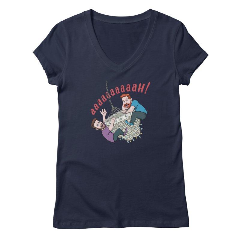 Chandelier Scream Women's V-Neck by Sissy Store: 90 Day Gays Swag