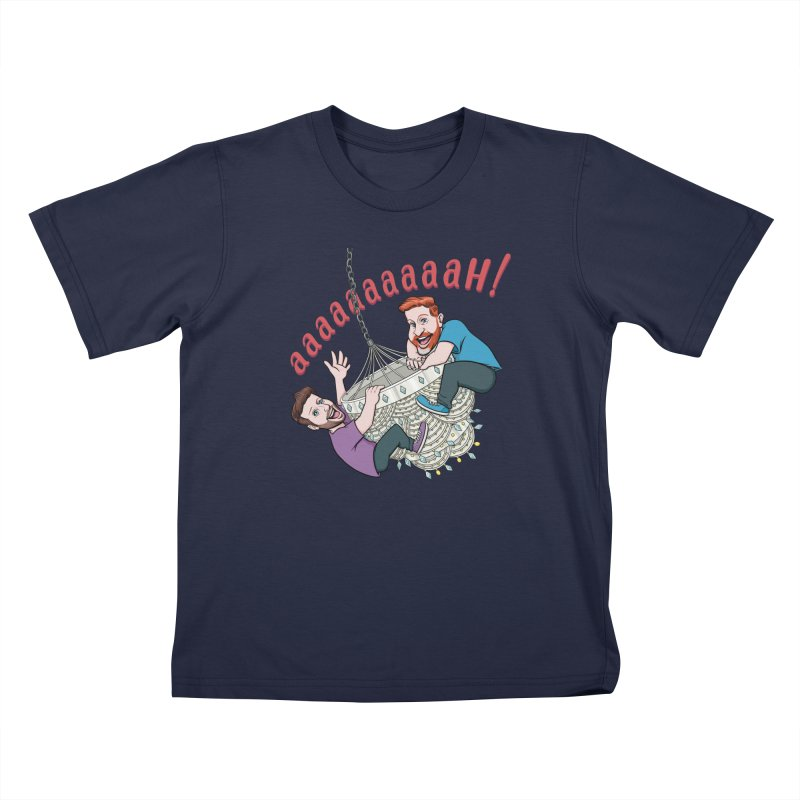 Chandelier Scream Kids T-Shirt by Sissy Store: 90 Day Gays Swag