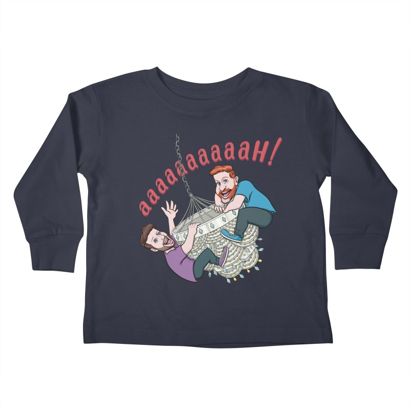 Chandelier Scream Kids Toddler Longsleeve T-Shirt by Sissy Store: 90 Day Gays Swag