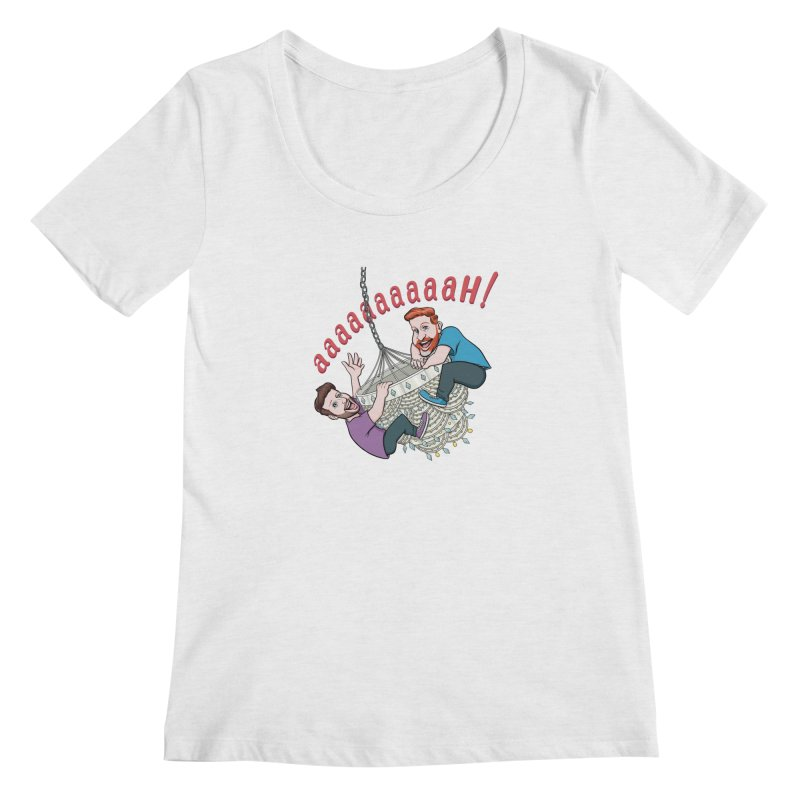 Chandelier Scream Women's Scoop Neck by Sissy Store: 90 Day Gays Swag