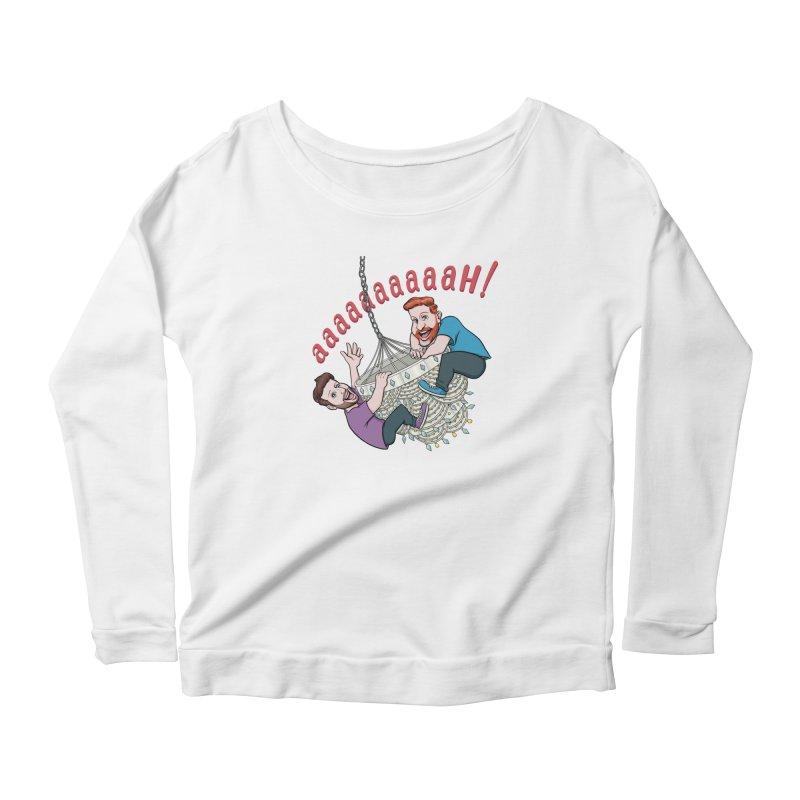 Chandelier Scream Women's Scoop Neck Longsleeve T-Shirt by Sissy Store: 90 Day Gays Swag