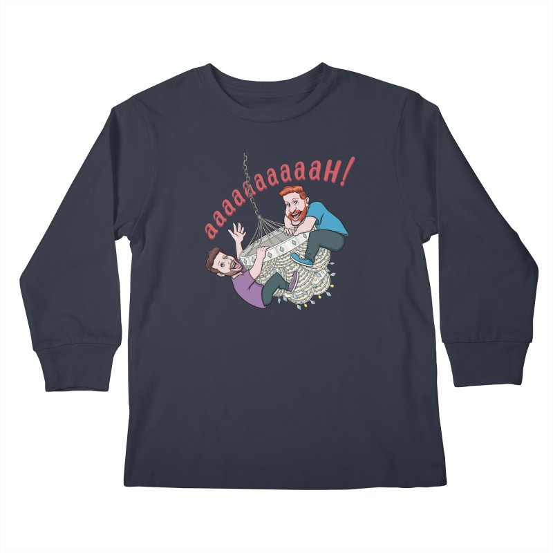 Chandelier Scream Kids Longsleeve T-Shirt by Sissy Store: 90 Day Gays Swag