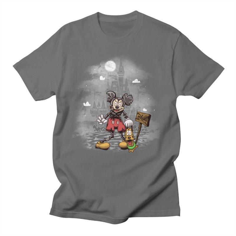 Mickey Die Men's T-Shirt by Arashi-Yuka
