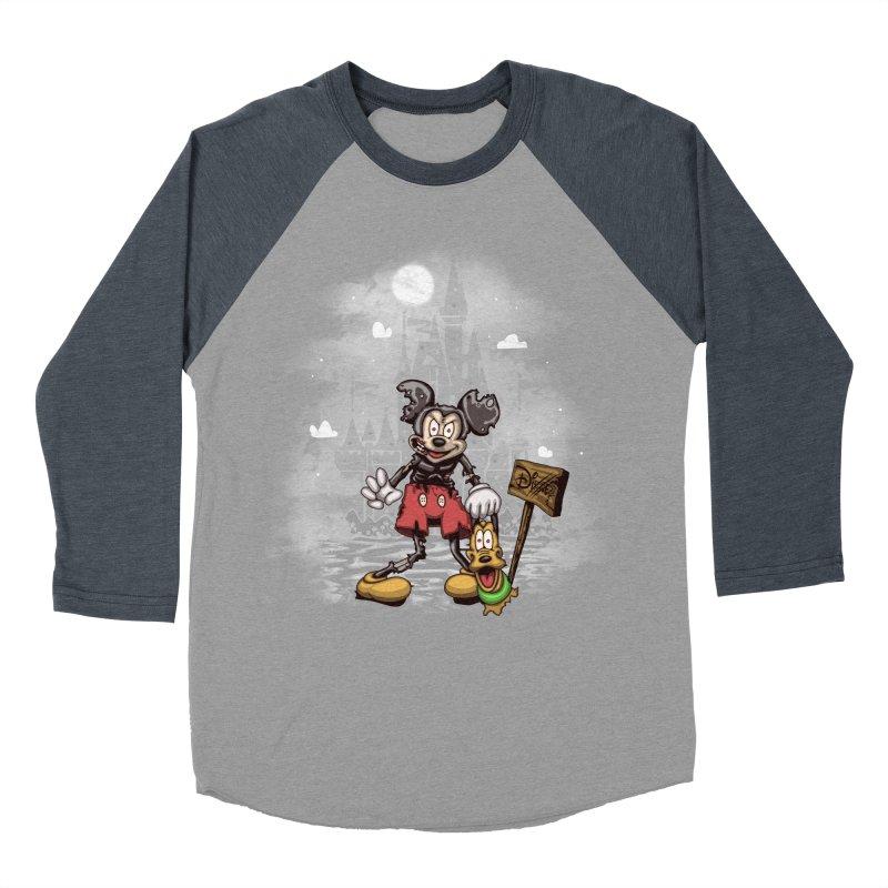Mickey Die Men's Baseball Triblend Longsleeve T-Shirt by Arashi-Yuka