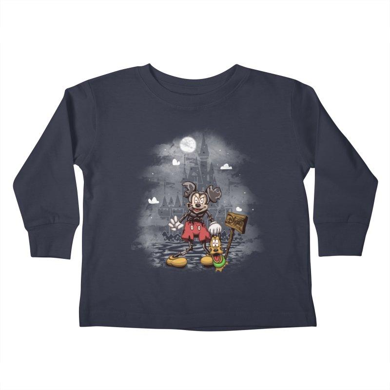 Mickey Die Kids Toddler Longsleeve T-Shirt by Arashi-Yuka