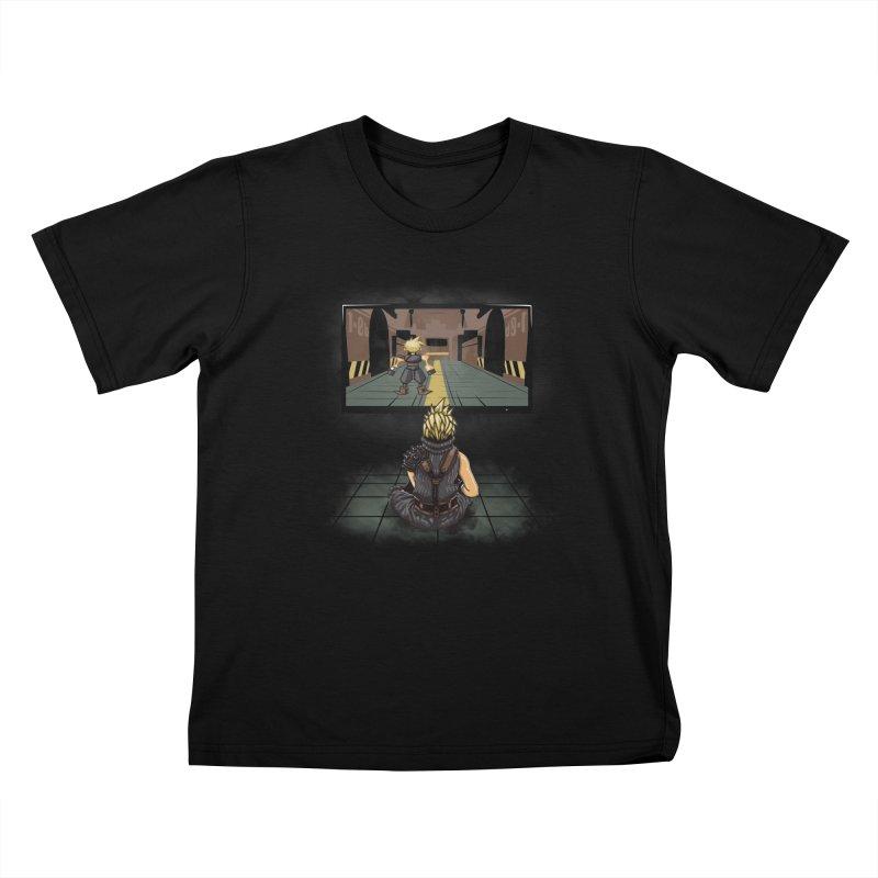 Playing With Yourself Kids T-Shirt by Arashi-Yuka