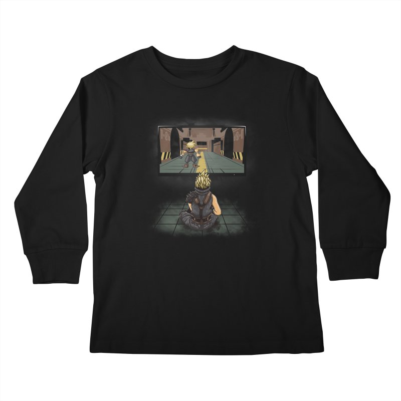 Playing With Yourself Kids Longsleeve T-Shirt by Arashi-Yuka