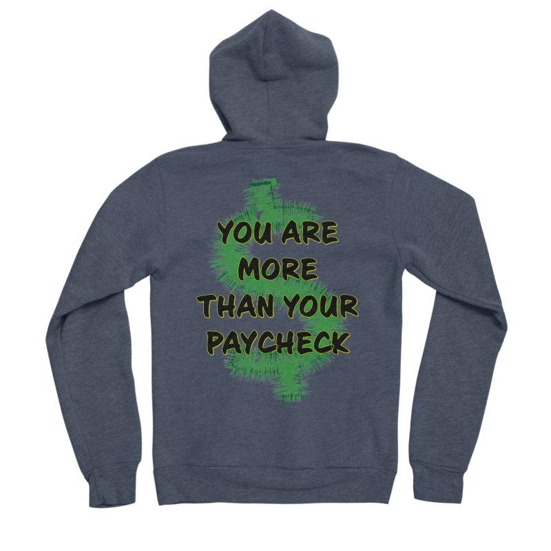 You are MORE! Women's Sponge Fleece Zip-Up Hoody by SixSqrlStore